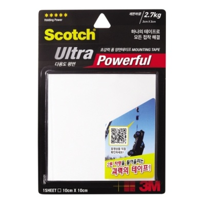 [3M] 초강력폼양면테이프 UPS101 다용도평면 [개/1] 357087