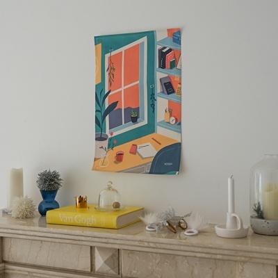 마이룸 일러스트 패브릭 포스터 / 가리개 커튼