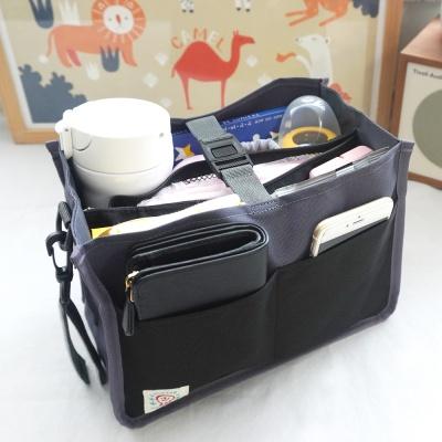 [플루토나인] 베이직차콜 백인백(유모차가방)