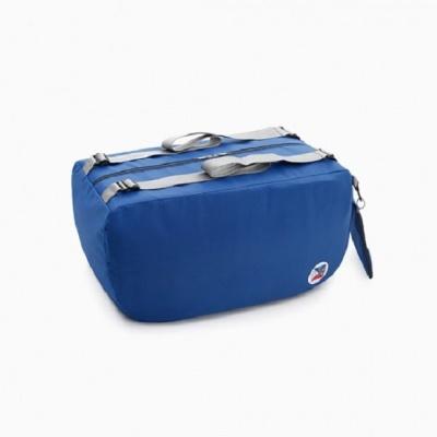 접어서 휴대하는 여행용 접이식 블루보조백팩
