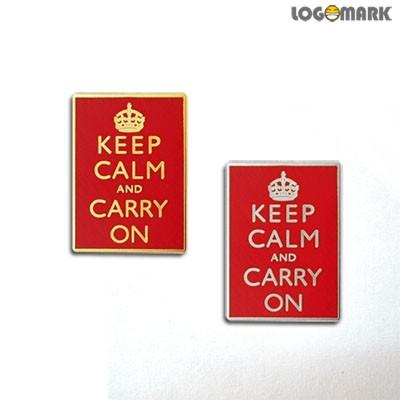 keep calm and carry on 뺏지
