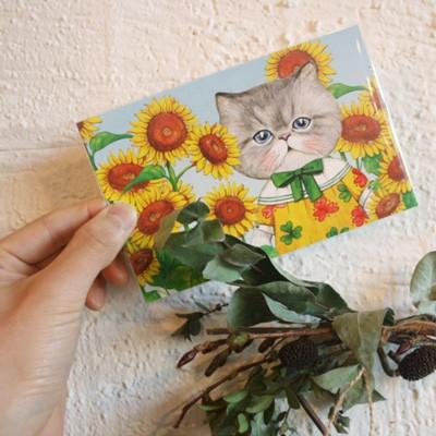 고양이삼촌 루미엽서세트 Vol.2