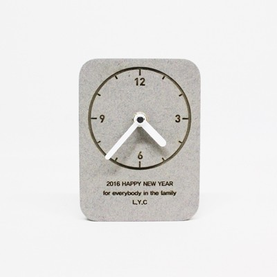[각인 주문제작]Memory A clock (레이저마킹)