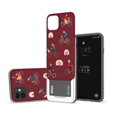 아이폰11프로맥스 슬라이더 그래픽 라이딩 카드케이스