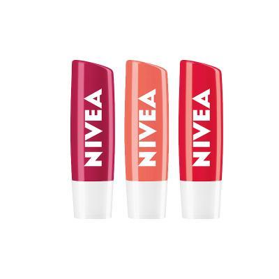 니베아 후르티샤인 색있는 립밤 3종세트