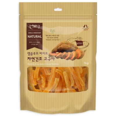 [앱솔루트 바이트] 자연건조 고구마 1kg