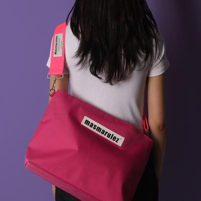 225 스트랩 커스텀 크로스백 _ Cherry pink