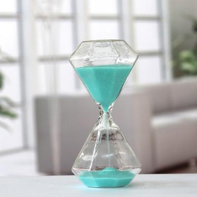 다이아타임 유리 모래시계(5분) (스카이)