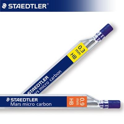 스테들러 마스 마이크로 카본 샤프심 0.3/0.9mm 250HB