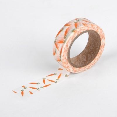 마스킹테이프 - 17 carrot
