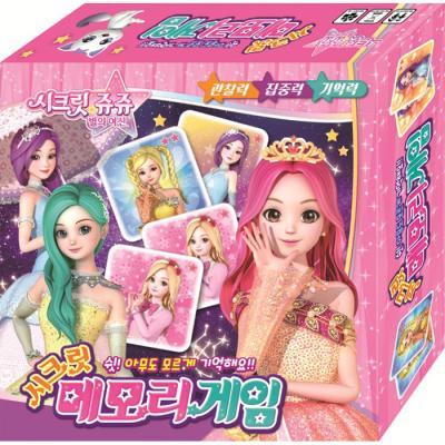 보드게임 - 시크릿 쥬쥬 메모리 게임