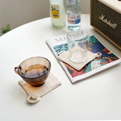 블랭크 스트링 티코스터/광목원단 컵받침(RM 239001