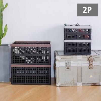 [1+1] 세련된 접이식 폴딩박스(소) /리빙박스/정리함