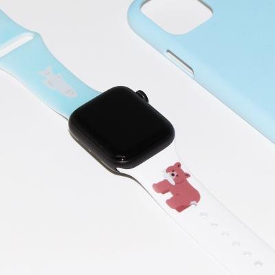 [에이스텝] 숲속 친구들 애플워치 스트랩
