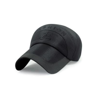 캐주얼 메쉬 등산모자(블랙)/ 등산캡모자