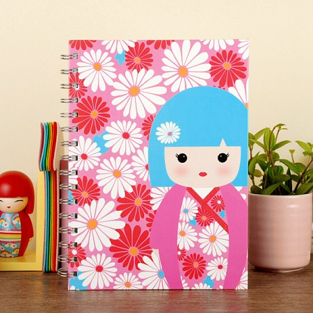 [키미주니어] A5 Notebook - Bella (KJS0184) 벨라 A5 스프링노트
