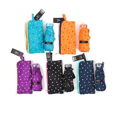 [더로라]휴대용 우산- 5단 접는 우산 - 별사탕 e541