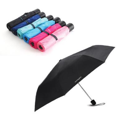 8000 칼라팝 3단 우산(검정)
