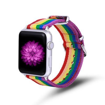 애플워치밴드 1 2 3 4 5 스트랩 시계줄 스포티 나일론
