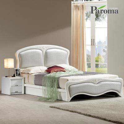파로마 라인 통깔판 클레식 침대(Q)+본넬참숯매트