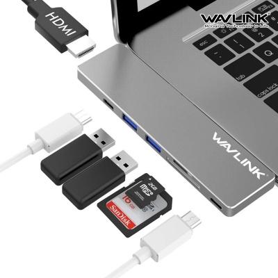 웨이브링크 UHP3405M 맥북전용 C타입 USB3.0 멀티허브