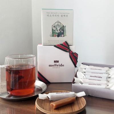 [더소가X멜라이드] 블렌딩티 + 수제카라멜 선물 세트