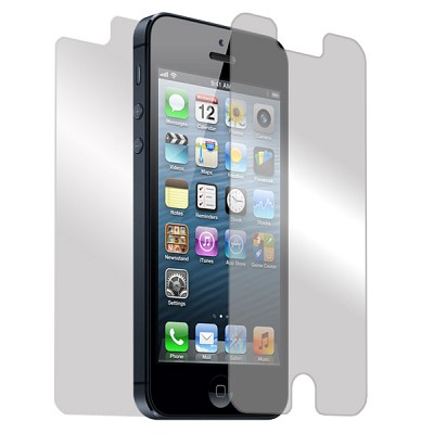 아이폰 5용 무반사 전신보호필름 (무반사 앞면용 + 3레이어 뒷면용)