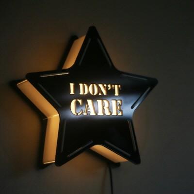 [무료배송] STAR 카피라이트 I DONT CARE
