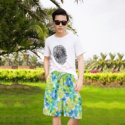 (와인앤쿡)실속형꽃무늬 beach wear (남성용)1P