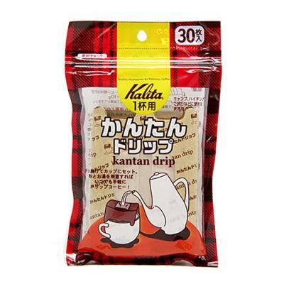 칼리타 간단 드리퍼 30매