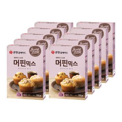 (박스특가/10개입) 큐원 머핀믹스 한박스 (오븐용)