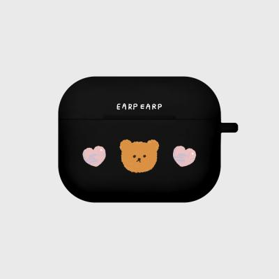 Dot love and bear-black(Air pods pro)
