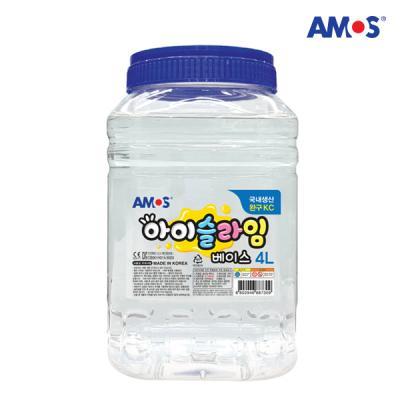 아모스 아이슬라임 베이스 4L 슬라임 물풀
