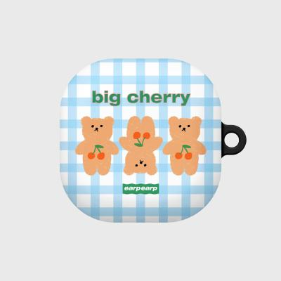 Three cherry big bear-sky blue(buds live hard)