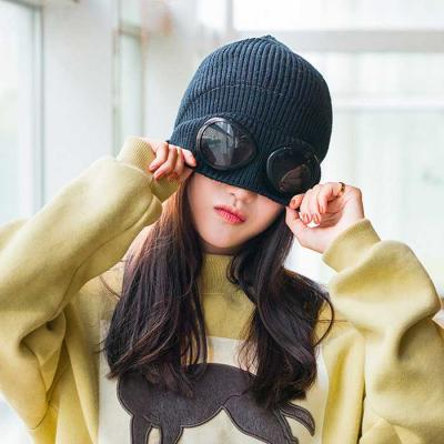 Invierno Mujer knit 고글 beanie 7color CH1662601