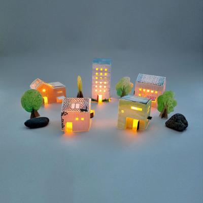 그러자 컬러링타운 종이집 paper + LED양초