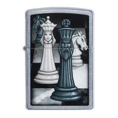 ZIPPO 라이터 49601 Chess Game Design