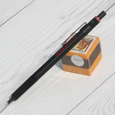 육각바디+메탈그립 0.5mm 샤프펜슬-로트링 500 HF223-4