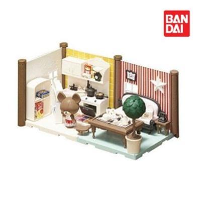 반다이 하코룸 키친 다이닝 키트 / 조립 장난감 세트