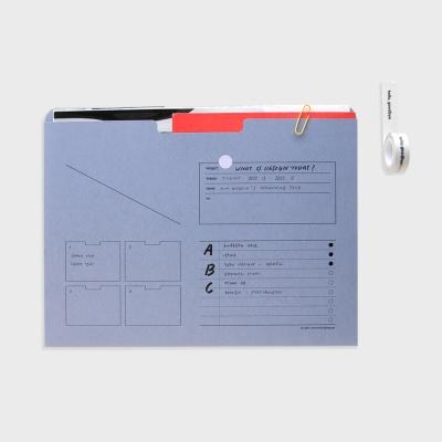 A4 아카이빙 수납 파일 - analogue