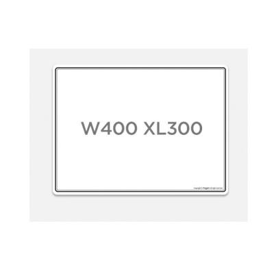 마그피아 유리용 자석 화이트보드 W400 L300