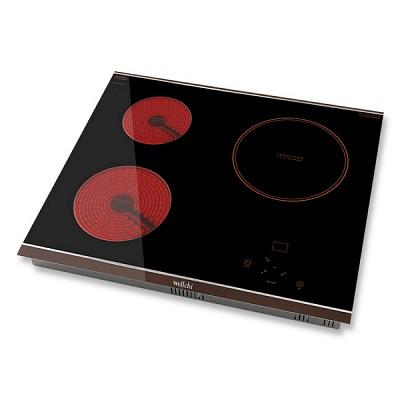 웰치 하이브리드 3구 전기렌지 KR-H300-빌트인