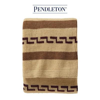 [펜들턴] 담요 니트 덮개/로브 가운 브라운