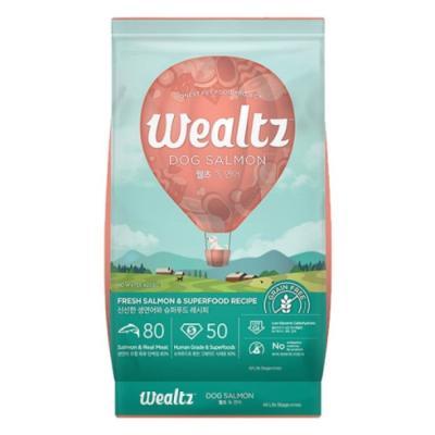 웰츠 독 연어 2.1kg 강아지사료