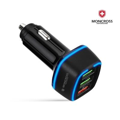 몽크로스 QC3.0  USB 3포트차량용 충전기 MSCC-Q30