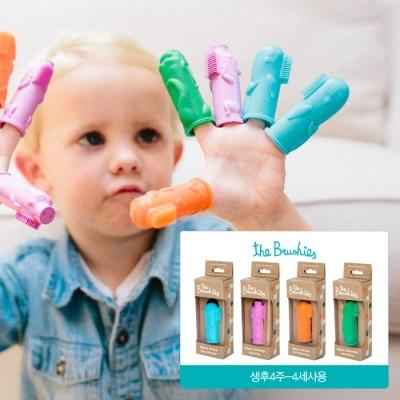 손가락인형칫솔 유아 아기 칫솔 추천_디자인선택