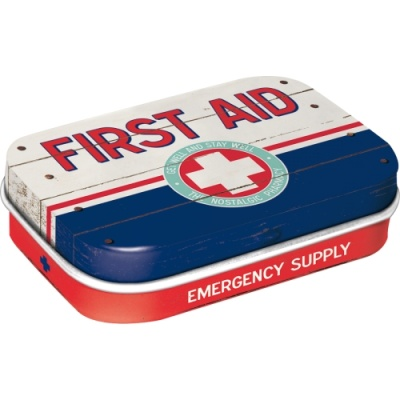 노스텔직아트[81320] First Aid Blue - Emergency S