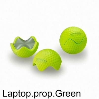 노트북용품 E GOLF 그린 골프공 모양 받침대