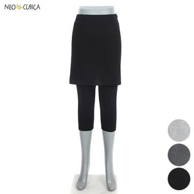 [네오쿠비카]빅사이즈 7부 치마레깅스 NCP-PS027