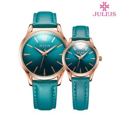 줄리어스 JA-983 폴인러브(6color) 남녀 가죽시계